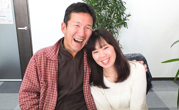 お二人の仲の良さがうかがえる笑顔です。