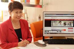 2007年から始めたブログは、週に1回は更新しており愛読者は多い。