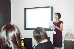 会員向けセミナーなども精力的に開催しており、志記さんの分析力が活かされている。