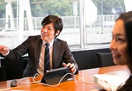 IBJのサポートについて話す笹岡さん