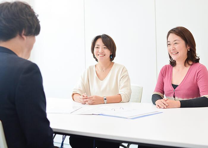 「2人でのサポートが魅力と会員様に喜ばれています」と話す田口さん。