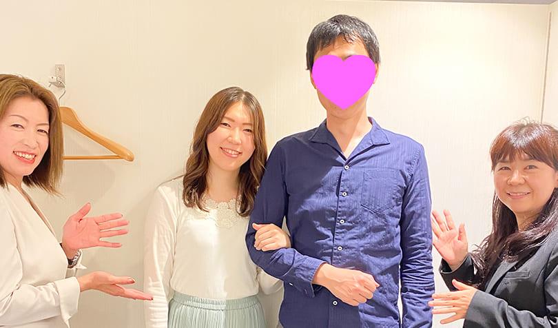 「Marriage Ki」 Y.Nさん<span> 30代前半 会社員</span>